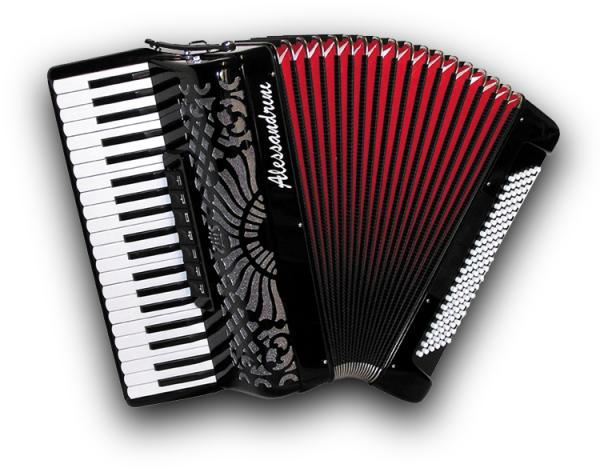 Piano accordion of 41 key and 120 bass