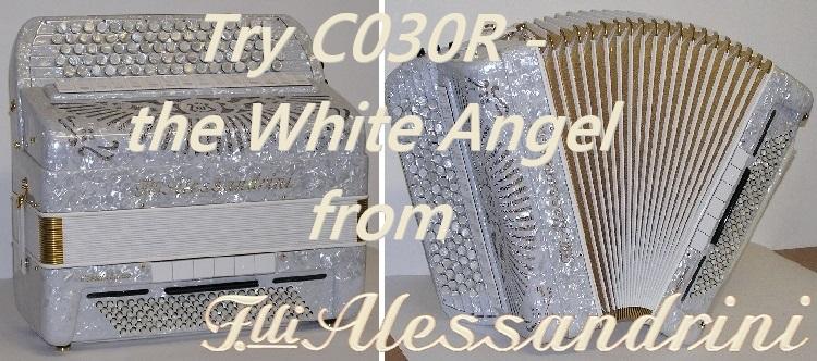 Slide Baneris Alessandrini C030R white